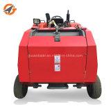 中国の製造者の販売のための小型円形の干し草の梱包機の梱包装置