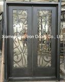 Portello di entrata Handmade della parte anteriore del ferro saldato del portello d'acciaio caldo esterno di vendita