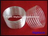 Труба стекла кварца кремнезема высокой очищенности опаковая спирально