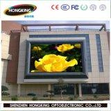 Écran polychrome de publicité flexible extérieur de la qualité P10 DEL