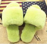 Accueil femmes/hommes Chambre intérieure de la peau de mouton chaussons confortables l'exportation vers la Russie et d'autres endroits