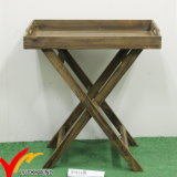 Table rustique en bois naturel