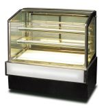 Cake Display Showcase Cooler with Curve Glass