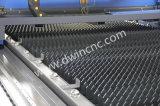 Алюминий или нержавеющая сталь/углеродистая сталь металлический лист установка лазерной резки с оптоволоконным кабелем