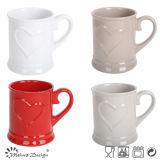 Tazza di caffè impressa gres di ceramica