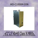 800 Mbit/s PLC Pont Ethernet coaxial produit rail DIN pour usage industriel