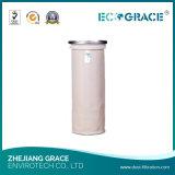 Sacchetto industriale resistente a temperatura elevata di filtro dell'aria di PPS del cemento
