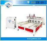 El husillo de madera giratorio Multi Router CNC máquina para la Presidencia y las escaleras de piernas
