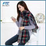 190*70cm Comum espesso Imitação Cashmere cachecol para as mulheres de moda