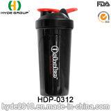 BPA liberano recentemente la bottiglia di plastica della polvere della proteina, bottiglia di plastica di scossa 700ml con la sfera degli ss (HDP-0312)