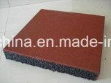 Mattonelle di gomma del campo da giuoco resistente all'uso/mattonelle pavimentazione di gomma di sport