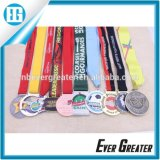 Metal su ordinazione Medal per Souvenir, Cheap Sports Medal con Ribbon, Design Your Own Medal