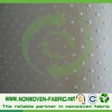 PVC点の非編まれる上塗を施してあるSpunbondedのスリップ防止