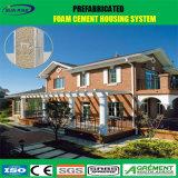 Casa pré-fabricada do luxo barato com a casa de campo clara de Prefabricada da construção de aço