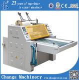 Quanlity 높은 반 자동적인 두 배 옆 유압 서류상 롤은 또는 Pre-Glue Glueless BOPP 필름 또는 물 기초 열 최신 박판으로 만드는 기계 (Laminator)