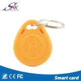 ドアのアクセス制御のための習慣125kHz Tk4100使い捨て可能なRFID Keychain