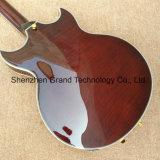 A rebentar Maple corpo oco Superior Jazz guitarra eléctrica (TJ-315)