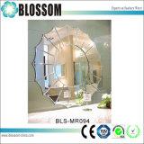 高級ホテルの花の形の壁の装飾的な円形ミラー