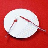 Le dîner de gros de la plaque de la plaque de dîner au restaurant de la plaque en céramique