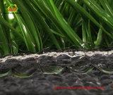 Luz - verde e obscuridade - grama artificial do fio verde do monofilamento para o futebol do futebol