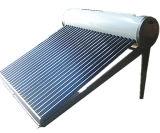Calefator de água solar do vácuo do aço inoxidável