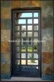 Porta de entrada super agradável do ferro feito da qualidade
