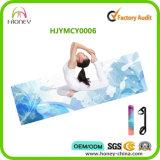 Estera impresa aduana lavable fácil respetuosa del medio ambiente de la yoga de Microfiber