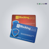 Protecção de segurança do cartão de crédito cartão de bloqueio do bloqueador de RFID