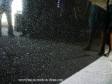 インド大きいギャラクシー黒の花こう岩の平板