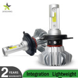 Cheapest Super Bright H11 sans ventilateur 12V Auto H7 H4 voiture allume la LED LAMPE PHARE