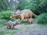 Dinosaur extérieur d'Animatronic T Rex de matériel de cour de jeu