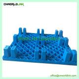 Unidireccional de apilamiento de plástico de malla de transporte de palets duradero