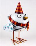 Design novidade engraçada Galo de artesanato de metal presente de Natal
