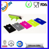Playingのための上のSale Popular Style Silicone Cell Phone Credit Card Holder