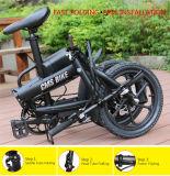 Peso ligero de la aleación del Al plegable la bici eléctrica con la velocidad de Shimano 6