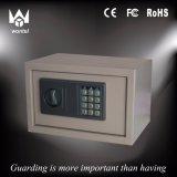 La caja fuerte electrónica lo más tarde posible humanizada de la libertad del hotel del diseño con el metal hizo