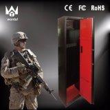 5개의 전자총 안전한 상자 소총 상자 검정 색깔 내화성 금속 격판덮개 제조자 소총 상자