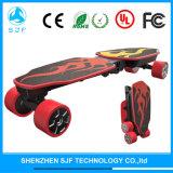 4개의 바퀴 전기 스케이트보드 빛 널 Foldable 전기 스쿠터