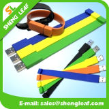 Förderndes Geschenk Kurbelgehäuse-Belüftungkundenspezifisches USB-Blitz-Gummilaufwerk (SLF-RU019)