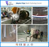 Materiales de PVC de plástico reforzado con alambre de acero espiral de maquinaria de extrusión de manguera