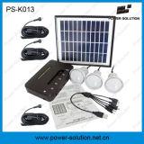 Kit de l'énergie solaire avec 3 ampoules pour les régions éloignées
