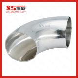 Curvatura sanitaria della saldatura dell'acciaio inossidabile SUS304