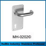 La maneta palanca hueco oval del descuento grande para hace pivotar hacia fuera la puerta con latón/la pieza inserta de aluminio