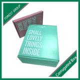 Caja de embalaje de papel impresa a todo color