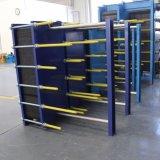 Placa de industriales del intercambiador de calor para calefacción y refrigeración.