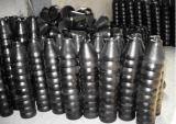 Estafa de la pintura del negro del acero de carbón de las instalaciones de tuberías. Reducción