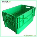 Heavy Duty 60kgs de agricultura de grado alimenticio vegetal de la fruta de contenedores de plástico