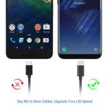 USB печатает c к USB на машинке Sync 2.0 данных и поручает кабель шнура 22AWG для переключателя галактики S8 S8+Nintendo Samsung и полностью другого приспособления USB-C больше