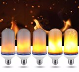 Lâmpada quente da flama do diodo emissor de luz da venda E26/E27 com branco morno 5W