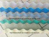 Telha de telhadura ondulada plástica da folha UPVC da onda da Um-Camada para o edifício do telhado da fábrica